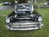 1957 CHEVROLET 150 2 DR SEDAN 29000 ORIGINAL MILES!