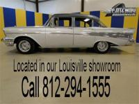This classic 1957 Chevrolet Bel Air is a true cruiser!