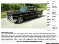 1957 Chevrolet 210- 1,000 Address:  Sarasota, FL