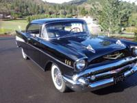 1957 Chevrolet Bel Air/150/210 2-door hdtp Restored to