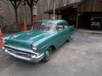 All-original, unmolested 1957 Chevy 210-2 Door Post Car