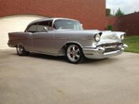 OFFERING A VERY NICE 1957 CHEVROLET BELAIR. THIS CAR