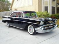 1957 Chevrolet bel air 283 automatic with power brakes