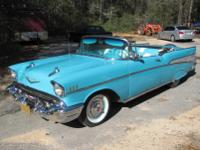 Classic 1957 Convertible.  -The most sought after
