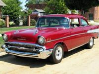 Year: 1957Exterior Color: Red Interior Color: GrayMake: