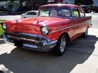 1957 Chevrolet Bel Air/150/210 Restomod. Restored a few