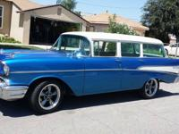 1957 Chevrolet Bel Air/150/210 Wagon. Newly restored.
