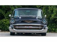 This 1957 Chevrolet Bel Air it presents in incredible,