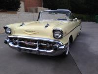 This is a very nice 1957 Chevrolet Bel Air Convertible