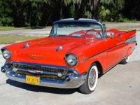 1957 Chevy Bel Air Convertible for sale. Absolutely No
