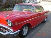 1957 Chevrolet Bel Air. Full Frame Off Custom Car. Call