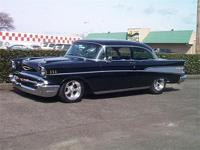 This Beautiful Black 57 Resto-Rod Started As A Well