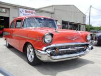 1957 Chevy 2dr Post, 350 Engine, 350Trans, A/C, Power