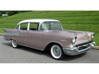 1957 Chevrolet Bel Air Sedan, 39,000 miles, totally