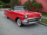 1957 Chevrolet Belair Convertible for Sale, 283 V8
