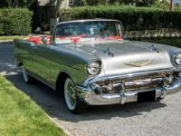 1957 Chevrolet Bel Air Convertible. For the meticulous