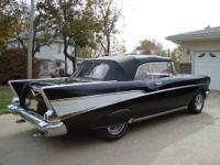 1957 Chevrolet Bel Air Convertible ..Totally Restored