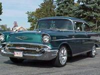 THIS IS A 1957 CHEVY BEL AIR CUSTOM SHOW CAR ONLY 1500