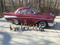 1957 Chevrolet Bel Air (IN) - $23,000 2 door Modified