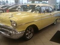 1957 Chevrolet Bel-Air 2 Door Sport Coupe, very low