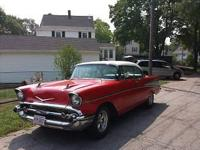 1957 Chevrolet Bel Air (NY) - $59,999 Exterior: Red w/