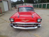 Here is a Fresh Frame Off Built 1957 Chevy Bel Air Post
