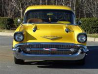 Check out this completely custom '57 Chevy built by a