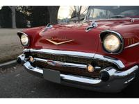 57 BEL AIR HARDTOP 327 5 SPEED A/C DISC BRAKES	 Year: