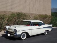 1957 Chevrolet Bel Air150210 white  Here is an