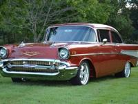 57 Chevy frame off Resto-Mod perfect in every way1957