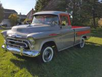 Gorgeous 1957 Chevy Cameo pickup 3124, top of the line