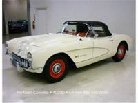 "1957 Corvette Convertible ""Factory Air Box"" Fuelie"