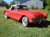 1957 CORVETTE CONVERTIBLE WITH HARDTOP  IT RUNS AND