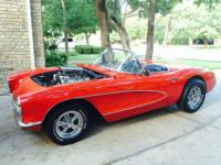 Here is a 1957 Corvette. Purchased from second owner of