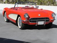1957 Chevrolet Corvette Convertible Red Vinyl,Power
