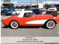1957 Chevrolet Corvette , 3,000 Address: