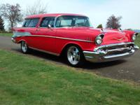 1957 Chevrolet Nomad Base ZZ4 350C.I. THIS CAR HAS BEEN