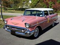 This 1957 Nomad has 36,800 actual miles and is equipped