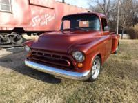 THIS IS A 1957 CHEVY 3100 ORIGINALLY. IT IS NOW A 1957