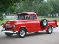 Description Make: Chevrolet Model: 1/2 Ton Year: 1957