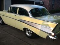 Beautiful 57 Chevy frame off restoration done by