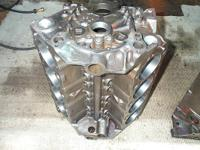 This is a original 1957 Chevy 283 block, it has been