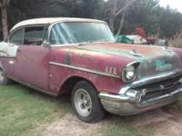 This is My Project 1957 Chevy 2 Door Hardtop Sport