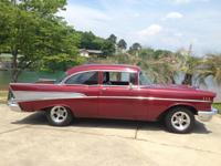 We have three 1957 Chevy's and a 1968 Chevelle
