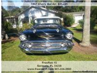 1957 Chevy Bel Air , Call for mileage Address: