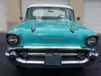1957 Chevy Bel Air (FL) -$21,900 4 door, RWD Tropicana