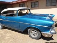 1957 Chevy 2 door hard top 327 engine 4 speed manual