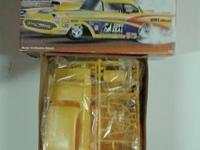 1957 CHEVY VINTAGE CAR KIT.  VERY RARE.  Model Car