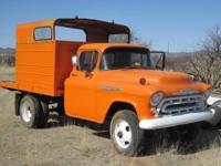 """Classic """"57"""" Chevrolet 3803, 1 1/4 Ton - 4WD - Railroad"""