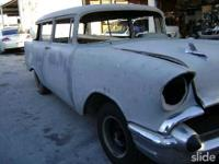 project car,needs complete restoration $11,500 57 CHEVY